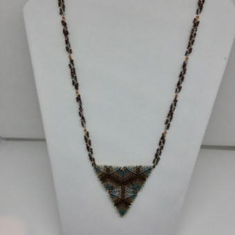 Long collier - KC's artisanat made in Belgium