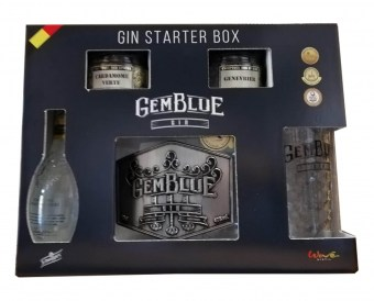 Gin belge - Wave Distil - Coffret GemBlue Gin