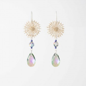 Boucles d'oreilles Signes - Collection Astres - Florence Beauloye