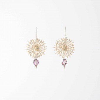 Boucles d'oreilles Céleste - Collection Astres - Florence Beauloye