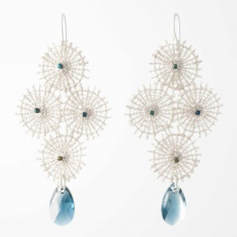 Boucles d'oreilles - Constellation - Collection Astres - Florence Beauloye