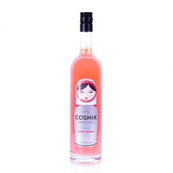Cosmik Apéro Blood Orange - Wave Distil - Apéro fruité naturel à base de vodka