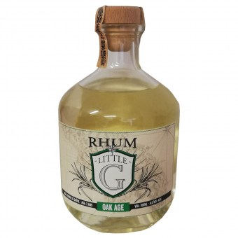 Rhum belge vieilli en fûts - Little G - Oak age - Wave Distil