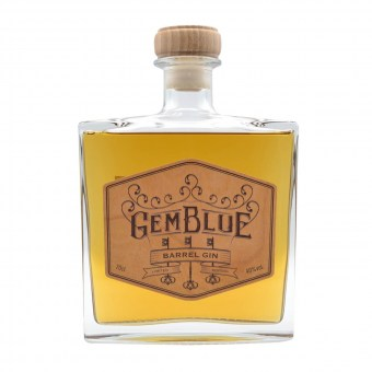GemBlue Barrel Gin - Wave Distil - Gin vieilli en fût de merisier