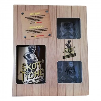 Whisky belge - Wave Distil - Coffret Skot'tiche