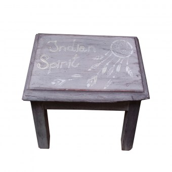 Tabouret - Indian Spirit - Les ateliers de Crystal