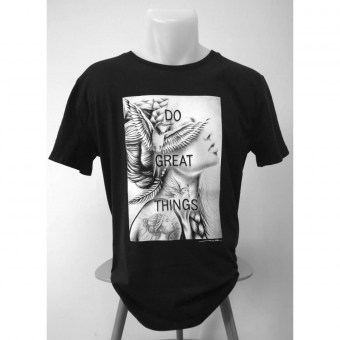 Do Great Things - Shirt - Noir Artist