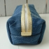 Trousse Justine - Denim doré