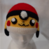 Bonnet Pikachu avec Pokeball