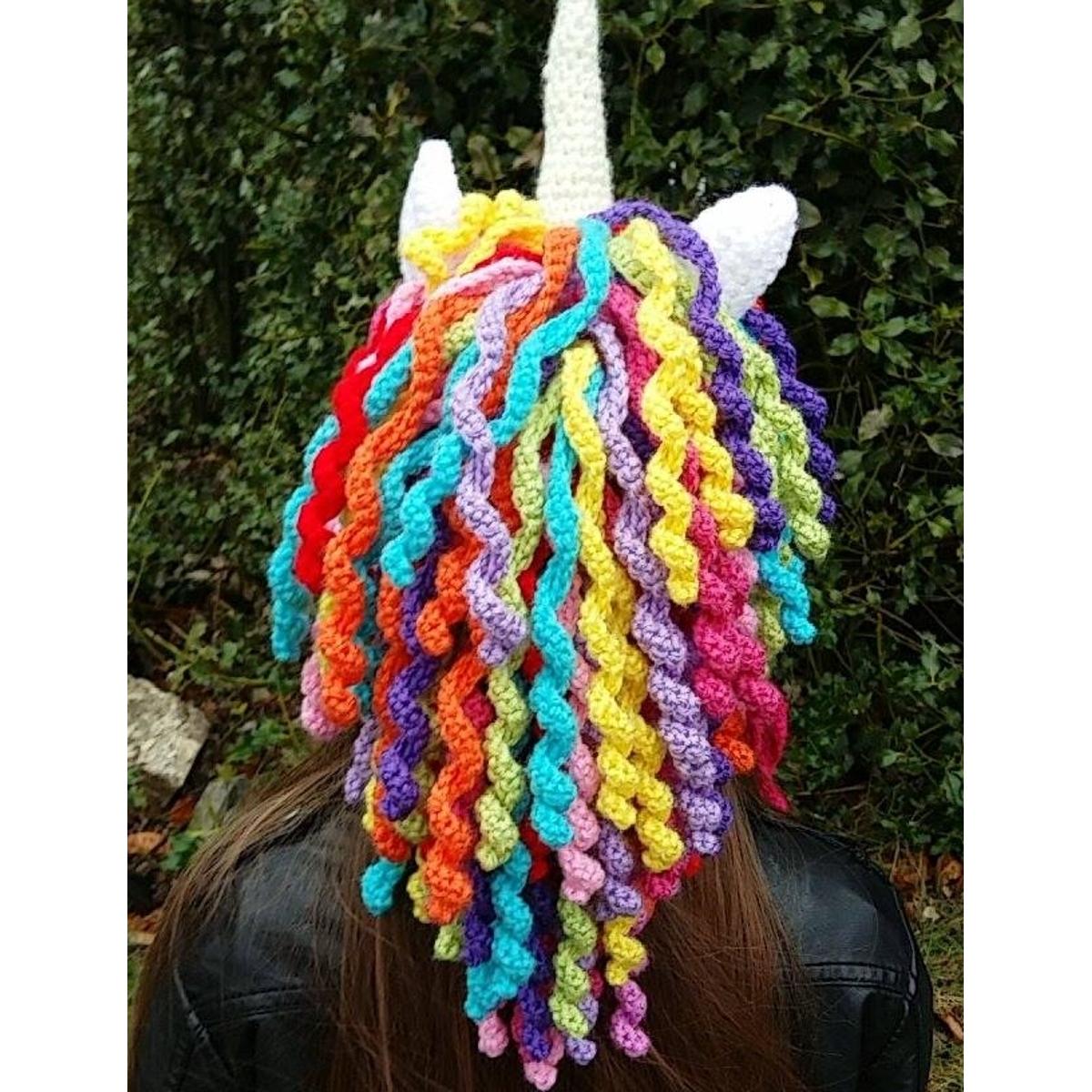 7d39fa21f571 Bonnet de créateur belge - Licorne - KC s artisanat made in Belgium