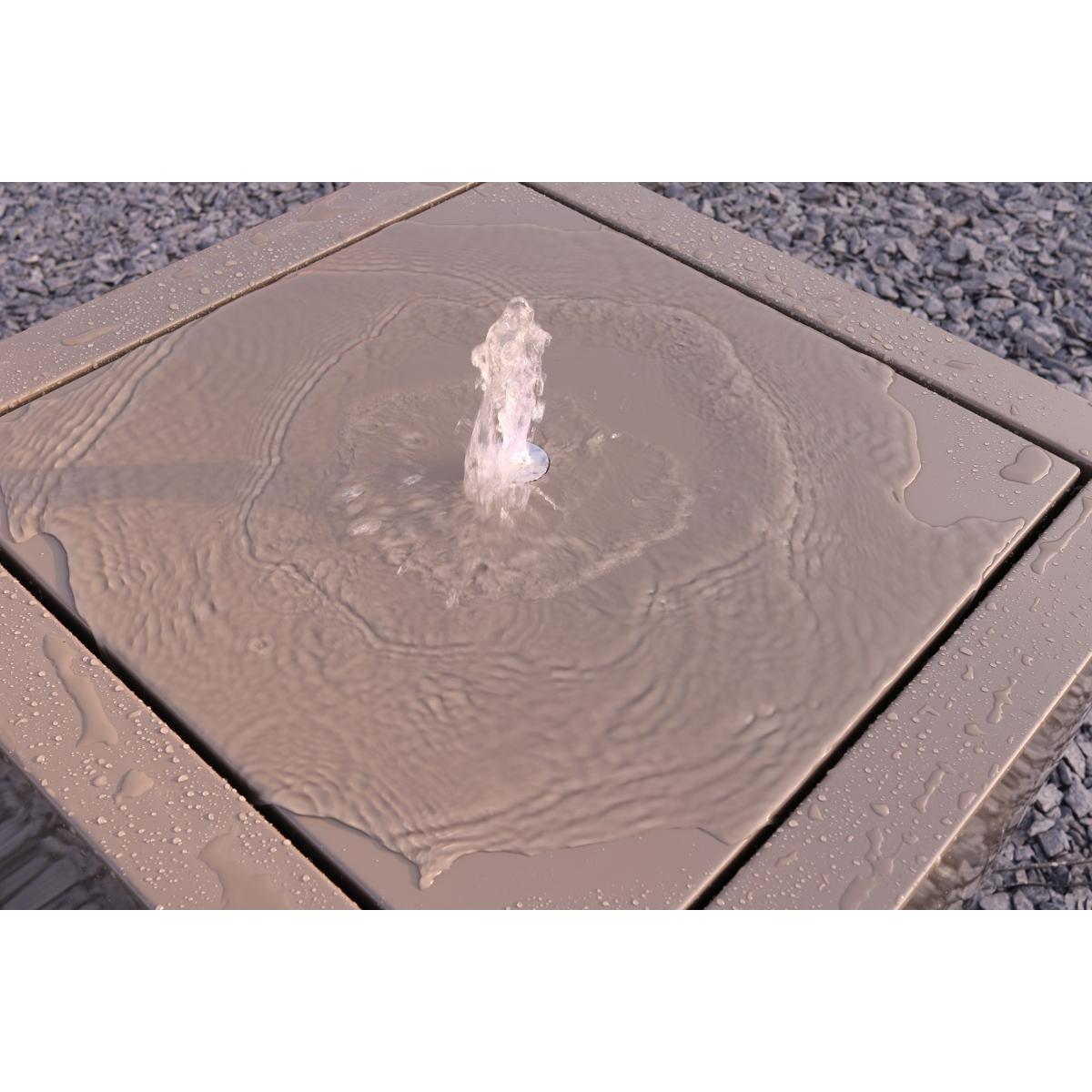 Meuble design belge fontaine kubik cr ation for Meuble design belge